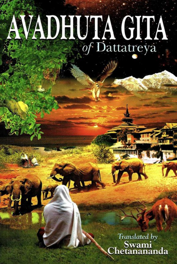 Avadhuta Gita of Dattatreya – The Song of the Ever-Free cover