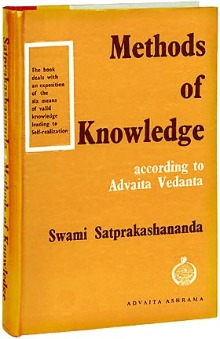 Methods of Knowledge According to Vedanta by Swami Satprakashananda