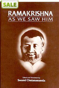 Ramakrishna As We Saw Him (Sale)