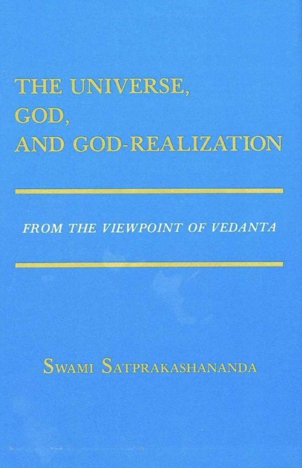 The Universe, God, and God-Realization cover