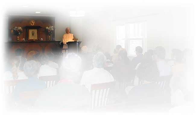 Class at Vedanta Society of St. Louis