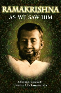 Ramakrishna As We Saw HIm by Swami Chetanananda
