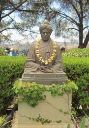 Swami Vivekananda statue at Trabuco
