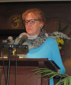 Susan Gerhard, Vivekananda Festival, 6-28-15